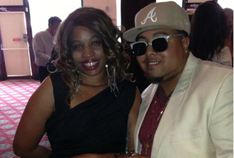 CEO's of HamTrackz Productions Michelle Latimer and Chazzam